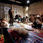 Hier und dort gibt es Musiktheater: Cages »Europeras« in der Schiller Theater Werkstatt 2012...