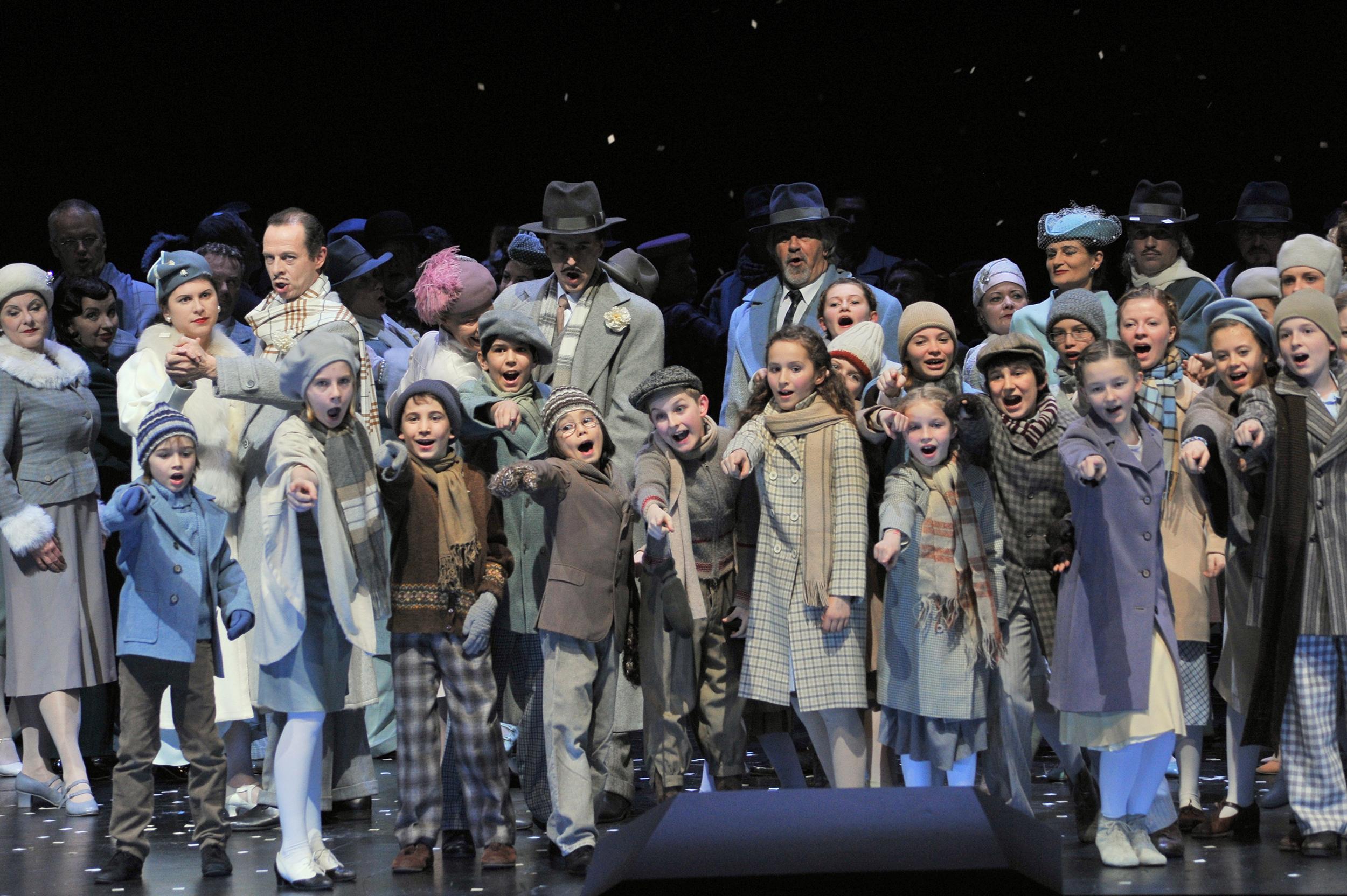 Hinter Den Kulissen Der Kinderchor Der Staatsoper Bei La Bohème