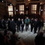 Als die Baustelle noch richtig Baustelle war: Premierenapplaus bei Sciarrinos »Macbeth«