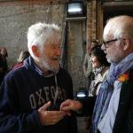 Gute Freunde: Achim Freyer und Jürgen Flimm bei der Premierenfeier von Sciarrinos »Macbeth«