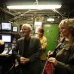Lieblingsplatz im Schiller Theater: das Inspizientenpult