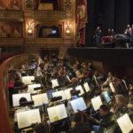 Orchesterhauptprobe im Teatro Colón...