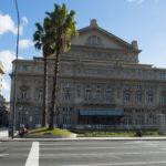 Außenansicht des Teatro Colón